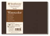 Блокнот для акварели Strathmore 400 Watercolor Art Journal 300г, 14х21,6см, 48л