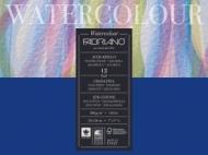 Альбом для акварели Fabriano Watercolour Studio 300г/кв.м (25%хлопок) 18x24см Фин 12л склейка по 1 стороне