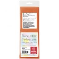 Бумага тишью Werola, 50*75см, 5 листов, 17г/м2, оранжевая, однотонная, пакет, европодвес