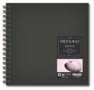 Блокнот для зарисовок Fabriano Sketch Book 110г/м.кв 30x30см мелкозернистая 80л спираль по короткой стороне