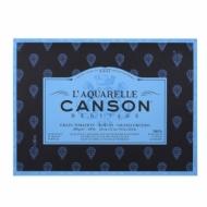 Блок для акварели Canson Heritage 300г/кв.м (хлопок) 23*31см 20листов Торшон склейка по 4 сторонам