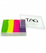 Профессиональный гипоаллергенный аквагрим Сплит-кейк TAG «Лето», 50г, 4 цвета
