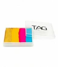 Профессиональный гипоаллергенный аквагрим сплит-кейк TAG «Леденец», 50г, 4 цвета