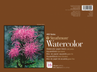 Блок для акварели Strathmore 400 Series Watercolor 300г/кв.м, 22,9х30,5см, 15л