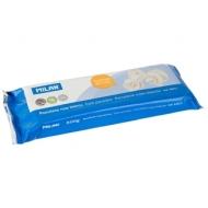 Глина для лепки Milan, белая, 500г, холодный фарфор, вакуумный пакет