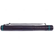Тубус А0 Стамм, телескопический на ремне, черный