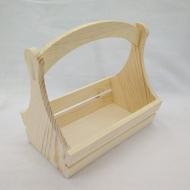 Заготовка деревянная для декорирования корзинка Timberlicious 25х16х21 см.