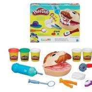 "Набор для творчества Play-Doh Hasbro ""Мистер Зубастик"", пластилин 5 цветов + аксессуары, в коробке"