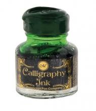 Чернила для каллиграфии Manuscript Gift банка стекло 30мл изумрудный