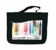 Набор маркеров Graph-It 24 штуки Scrap в пенале