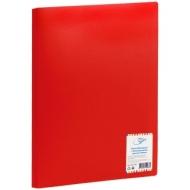 Папка с 40 вкладышами OfficeSpace, 25мм, 400мкм, красная