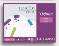 Альбом для пастели Fabriano Tiziano 160г/м.кв 30,5x41см белый 24л склейка по 1 стороне