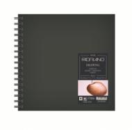 Блокнот для зарисовок Fabriano Drawingbook 160г/м.кв 30x30см мелкозернистая 60л, квадратный, спираль