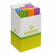 Набор бумаги крепированной Canson 32г/кв.м пастельные цвета (60 рулонов)