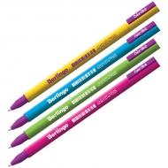 """Ручка гелевая Berlingo """"Color Stick"""" черная, 0,5 мм"""