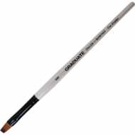 Кисть Daler Rowney Graduate синтетика укороченная плоская, короткая ручка №8