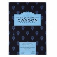 Альбом для акварели Canson Heritage 300г/кв.м (хлопок) 26*36см 12листов Торшон склейка по короткой стороне