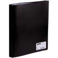 Папка с 30 вкладышами OfficeSpace, 20мм, 400мкм, черная