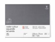 Блок для акварели Winsor&Newton Professional 300г, хлопок, 23*31см 20л Сатин