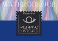 Альбом для акварели Fabriano Watercolour Studio 300г/кв.м (25%хлопок) 10,5x14,8см Фин 20л склейка по 1 стороне