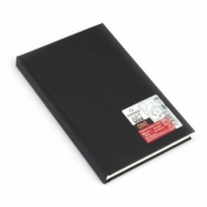 Блокнот для зарисовок Canson One 100г/кв.м 14*21.6см 100листов твердая обложка черный