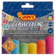 Набор круглых цветных мелков асфальтовых Classcolor Street Jovi, 6 шт.