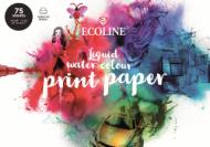 Альбом для акварели Royal Talens Ecoline Printer Paper 150гр/м.кв 21х29,7см 75л