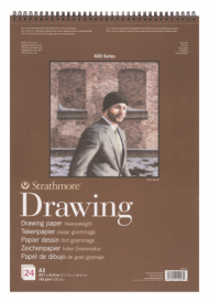 Альбом для графики Strathmore 400 Series Drawing 163г/кв.м, 29,7х42см, 24л