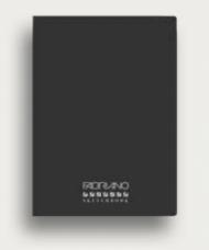 Блокнот для зарисовок Fabriano Qua Accademia 120г/м.кв 14,8x21см 24л мягкий переплет