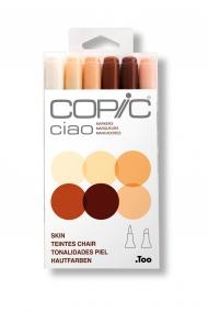 Набор маркеров Copic Ciao Skin 6 штук в пластиковой упаковке