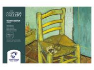 Блок для акварели Royal Talens Van Gogh National Gallery 300г/кв.м (целлюлоза) 13.5х21см 12л склейка по 4 сторонам