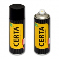 Термостойкая эмаль CERTA для металла 500°C, аэрозоль, 520 мл