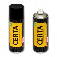 Термостойкая эмаль CERTA для металла 700°C, цвет: серебристый, аэрозоль, 520 мл