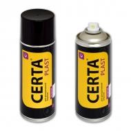 Термостойкая эмаль CERTA PLAST для металла, аэрозоль, 520 мл