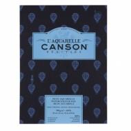 Альбом для акварели Canson Heritage 300г/кв.м (хлопок) 23*31см 12листов Торшон склейка по короткой стороне