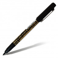 Ручка-маркер Zig Kuretake Mangaka Flexible для скетчей и комиксов, черная, наконечник-кисть 2 мм