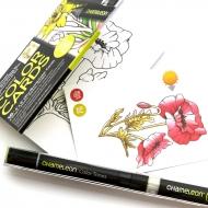 Раскраска-склейка Chameleon Flowers - Цветы