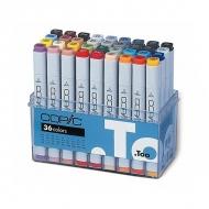 Набор маркеров Copic Classic с 2 наконечниками, 36 цветов