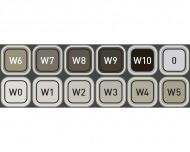 Набор маркеров Copic WG (Warm Gray) Classic 12 цветов + ПОДАРОК Бумага Copic для рисования
