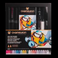 Набор художественных маркеров Chameleon, 22 шт