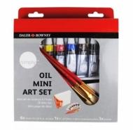 Набор масляных красок Daler Rowney Simply Mini art set