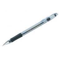 """Ручка гелевая Berlingo """"Techno-Gel Grip"""" черная, 0,5мм, грип"""