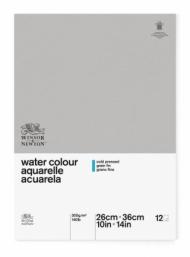 Альбом для акварели Winsor&Newton Classic 300г, 26*36см 12л Фин, склейка