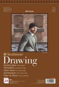 Альбом для графики Strathmore 400 Series Drawing 163г/кв.м, 21х29,7см, 24л