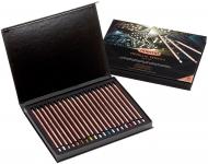 Набор цветных карандашей Derwent Metallic 20th Anniversary 20 цветов в подарочной упаковке