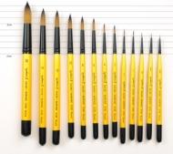 Кисть Daler Rowney System 3 синтетика круглая, короткая ручка