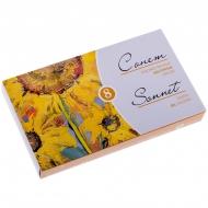 Краски масляные Сонет, набор 8 цветов, 10мл/туба, картон