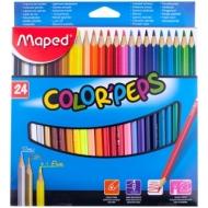 "Карандаши Maped ""Color Peps"", 24 цвета, трехгранный корпус"