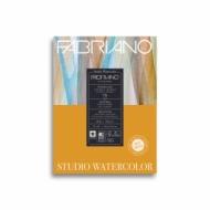 Альбом для акварели Fabriano Watercolour Studio 200г/кв.м (25%хлопок) 22,9x30,5см Сатин 75л склейка по 1 стороне