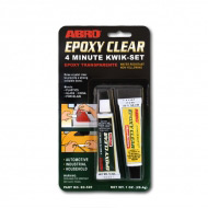 Клей эпоксидный высокопрочный ABRO EC-520 для пластика, стекла, резины и тд, 28,4 гр